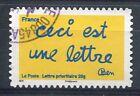 FRANCE 2011, timbre AUTOADHESIF timbres de BEN, ceci est une lettre, oblitéré