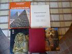 Lot de 5 livres sur L'égypte et les Pharaons