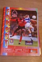 Nottingham Forest v Southampton 13 jan 96