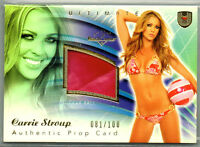 2009 BENCHWARMER ULTIMATE; CARRIE STROUP PROP CARD 81/100
