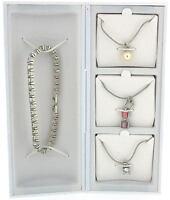 Pierre Cardin Ladies Necklace Bracelet  Earring Jewellery xmas Gift Set for her