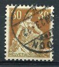 SUISSE - 1907-17, timbre CLASSIQUE n° 121, HELVETIA, oblitéré