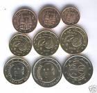 España 2009 Euro 9 valores circulacion SIN CIRCULAR @@