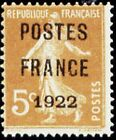 """FRANCE PREOBLITERE TIMBRE STAMP N°36 """"TYPE SEMEUSE, SURCHARGE 5C"""" NEUF x TB"""