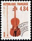 "FRANCE PREOBLITERE TIMBRE STAMP N°205 ""INSTRUMENTS MUSIQUE, VIOLON"" NEUF xx TTB"