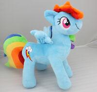 "My Little Pony RAINBOW DASH Friendship is Magic Custom Plush New 13"""