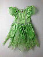 Girl Disney Store Tinkerbell Halloween Costume Dress Up Size 10/12 Large LN