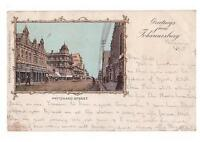 South Africa postcard - Pritchard Street, Johannesburg, 1901