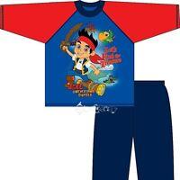 Boys Jake and The Neverland Pirates Long Pyjamas Ages 1-4 Years Treasure