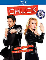 Chuck ~ The Complete 4th Fourth Season 4 Four ~ NEW 4-DISC BLU-RAY SET