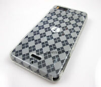 CLEAR HARD TPU GEL CASE COVER MOTOROLA DROID X X2 MILESTONE PHONE ACCESSORY