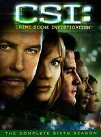CSI ~ Complete 6th Sixth Season 6 Six ~ BRAND NEW 7-DISC DVD SET