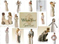 WILLOW TREE FIGURINES-Angel Of Love/The Quilt/Anniversary/Soar/Abudance/Sunshine