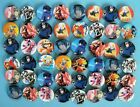 Naruto Ninja Decorate Badge Badges Pin 40pcs Mixed Lot F1 Dia 3cm Rare