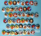 Dragonball Z Party Badge Badges Pin 40pcs Mixed Lot F1 Dia 3cm Rare