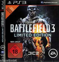 PlayStation 3  PS3  PS 3  Battlefield 3 Limited Edition