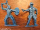 2 soldatini vintage in plastica toy soldiers plastic cowboy indiano americano