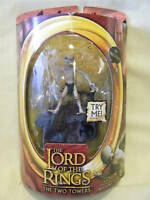 LORD OF THE RINGS TWO TOWERS TALKING GOLLUM FIGURE *NEW*