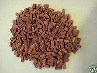 200 1:12th Scale Miniature Dolls House Briquette Bricks