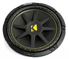 Kicker 10C12 12 Inch 300W 4-Ohm COMP Series Car Audio Subwoofer | 10C124