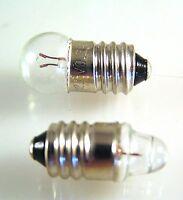 MES Miniature Edison Screw Bulb E10 1.2v,1.5,2.2,2.5,3.5,6,12,14, 24v 2pcs OM311