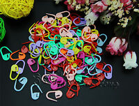 Wholesale Plastic Colorful Stitch Holder Needles Knitting Craft/Markers Crochet