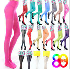 Fashion 80D OPAQUE PANTYHOSE Sexy Women Girl Long Candy Colors Stockings Tights