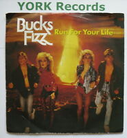 "BUCKS FIZZ - Run For Your Life - Excellent Condition 7"" Single FIZ 1"