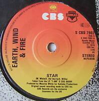 "EARTH WIND & FIRE - Star - Excellent Con 7"" Single"