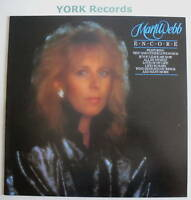 MARTI WEBB - Encore - Excellent Condition LP Record