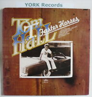 TOM T HALL - Faster Horses - Excellent Con LP Recod