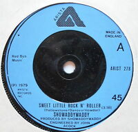 SHOWADDYWADDY - Sweet Little Rock n Roller - Ex Con 7""
