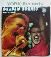"GRAHAM BONNET - Night Games - Excellent Con 7"" Single"