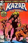 Ka-Zar The Savage #1-34 Set/Bruce Jones/Brent Anderson/Shanna/1981 Marvel Comics