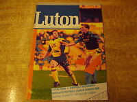1991/92 DIVISION ONE - LUTON TOWN v SHEFFIELD WEDNESDAY