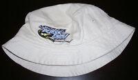 2002 US OPEN FILA Tennis ARTHUR ASHE KIDS DAY Bucket Khaki Hat Cap CHILD Size