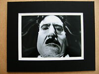 TERRY JONES HAND SIGNED AUTOGRAPH 10X8 PHOTO MOUNT MONTY PYTHON MR CREOSOTE COA