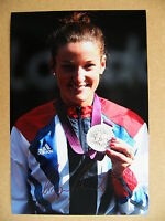 LIZZIE ARMITSTEAD HAND SIGNED AUTOGRAPH 12X8 PHOTO OLYMPIC CYCLING 2012 SILVER