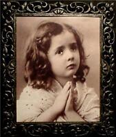 "Haunted Antique Vintage Photo ""EYES FOLLOW YOU"""