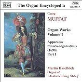 Organ Works, Vol. 1, Georg Muffat CD NEW