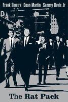 THE RAT PACK POSTER ~ SILVER 24x36 Frank Sinatra Dean Martin Sammy Ocean's 11