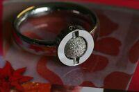 ♥♥   Charlotte 21 - Sterneffekt Sterling Silber Kugel  ♥♥