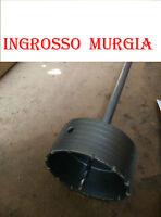 FRESA A TAZZA MM 130 CAROTATRICE CON ASTA SDS PLUS  350MM CEMENTO-MURO-MATTON