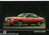 Lancia Beta Coupe 1300 2000 ie Brochure FRENCH Language Mint
