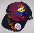 Brisbane Lions AFL Team Boys Mascot Embroidered Cap Size 54cm New