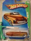 2009 Hot Wheels #9 T-HUNT TREASURE HUNT∞49 MERC∞1949 Brown Mercury