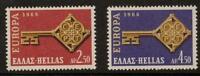 GREECE SG1076/7 1968  EUROPA  MNH