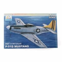 1:144 United States Fighter Plane Model P-51D MUSTANG Airplane Aircraft Military