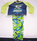 Disney Toy Story Buzz Boys Cotton Printed Pyjama Set Size 6 New