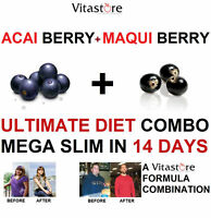 Acai berry + Maqui Berry ULTIMATE DIET COMBO Capsule.